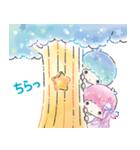 キキ&ララ 水彩タッチ♪(個別スタンプ:24)