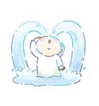 キキ&ララ 水彩タッチ♪(個別スタンプ:26)