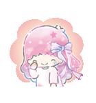 キキ&ララ 水彩タッチ♪(個別スタンプ:30)