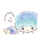 キキ&ララ 水彩タッチ♪(個別スタンプ:33)