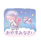キキ&ララ 水彩タッチ♪(個別スタンプ:40)