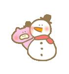 クリスマスや冬の加工にぴったり使いやすい(個別スタンプ:12)