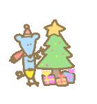 クリスマスや冬の加工にぴったり使いやすい(個別スタンプ:13)