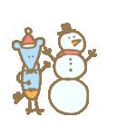 クリスマスや冬の加工にぴったり使いやすい(個別スタンプ:18)