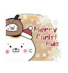 招きネコまる&こまる ほこほこの冬(個別スタンプ:26)