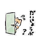 気づかう犬(個別スタンプ:02)