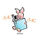 くまのプーさん カスタムスタンプ(水彩)(個別スタンプ:39)