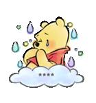 くまのプーさん カスタムスタンプ(水彩)(個別スタンプ:40)