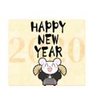 【年末年始】2020・子年・年賀スタンプ(個別スタンプ:02)