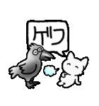 40コマ劇場Vol1 のら猫物語(個別スタンプ:07)