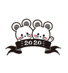 開運☆大人かわいい子年の年賀状【2020】(個別スタンプ:40)