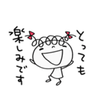 敬語使う☆くるリボン(個別スタンプ:25)