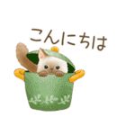 使いやすい☆猫たちのスタンプ(個別スタンプ:02)