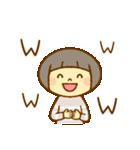 マッシュルームヘアちゃん(個別スタンプ:37)