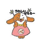 ばるるー犬*べすちゃん(個別スタンプ:02)