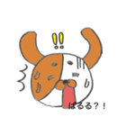 ばるるー犬*べすちゃん(個別スタンプ:03)