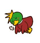 モヒカン鴨インザワールド(個別スタンプ:2)