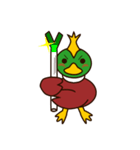 モヒカン鴨インザワールド(個別スタンプ:3)