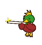 モヒカン鴨インザワールド(個別スタンプ:4)