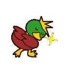 モヒカン鴨インザワールド(個別スタンプ:8)