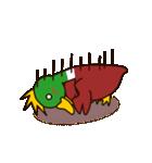 モヒカン鴨インザワールド(個別スタンプ:13)