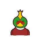 モヒカン鴨インザワールド(個別スタンプ:27)