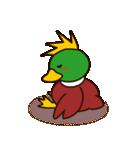モヒカン鴨インザワールド(個別スタンプ:40)