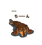気軽にダックス(チョコタン)【カスタム】(個別スタンプ:32)