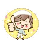 ナチュラルガール♥【素直な気もち】(個別スタンプ:17)
