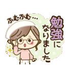 ナチュラルガール♥【素直な気もち】(個別スタンプ:27)