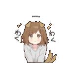 犬系女子。1.5(カスタム)(個別スタンプ:04)