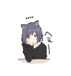 猫系女子。1.5(カスタム)(個別スタンプ:05)