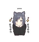 猫系女子。1.5(カスタム)(個別スタンプ:25)