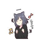 猫系女子。1.5(カスタム)(個別スタンプ:26)