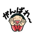 陽気な赤ジャージ女の子 7(個別スタンプ:04)