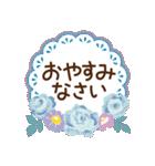 バラとレースのスタンプ/丁寧な気持ち(個別スタンプ:03)