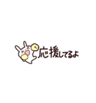 【省スペース】感謝・応援を伝えるうさぎ