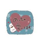 気持ちを伝える敬語♡招きネコまる&こまる(個別スタンプ:17)