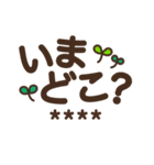 【カスタム】見やすいデカ文字★シンプル(個別スタンプ:28)