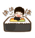 かわいい若い小西 セット2 (食べ物)(個別スタンプ:12)