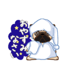 Pug パグ 普段使い(REMAKE)(個別スタンプ:03)