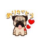 Pug パグ 普段使い(REMAKE)(個別スタンプ:09)