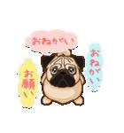 Pug パグ 普段使い(REMAKE)(個別スタンプ:21)