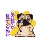 Pug パグ 普段使い(REMAKE)(個別スタンプ:23)