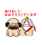 Pug パグ 普段使い(REMAKE)(個別スタンプ:30)