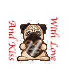 Pug パグ 普段使い(REMAKE)(個別スタンプ:32)