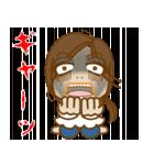 怖いモン無し!「お茶目な あねしゃん」(個別スタンプ:17)