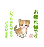 ちび猫5 毎日優しいスタンプ(個別スタンプ:5)