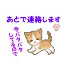 ちび猫5 毎日優しいスタンプ(個別スタンプ:32)