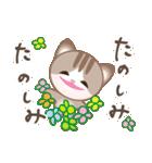 マルっとにゃんこ(個別スタンプ:15)